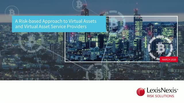 A Risk-based Approach to Virtual Assets and Virtual Asset Service Providers