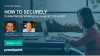 How to securely enable remote working