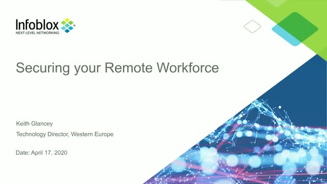 Securing your remote workforce