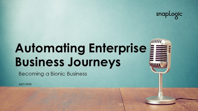[Virtual Event] Automating Enterprise Business Journeys