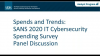 SANS 2020 Cybersecurity Spending Survey – Panel Discussion