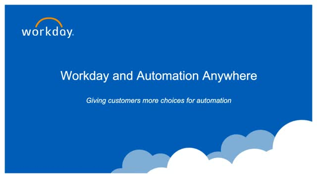 Workday and Dell: The Benefits of Robotic Process Automation (RPA)