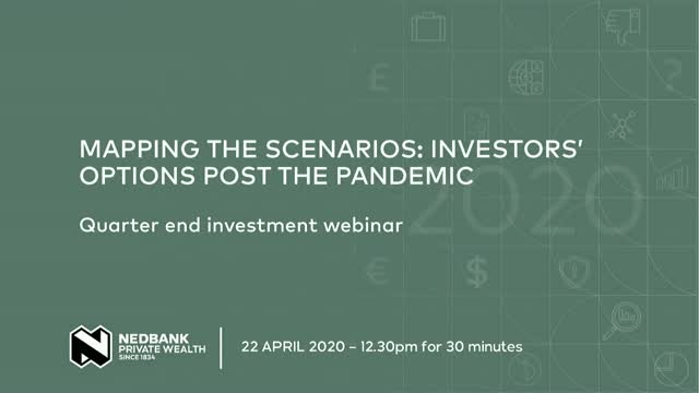 Quarter End Investment Webinar: Mapping the Scenarios