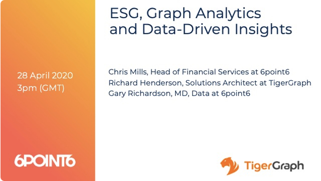 ESG, Graph Analytics and Data-Driven Insights