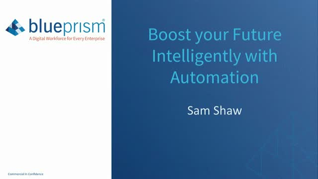 Boost your Future Intelligently with Automation