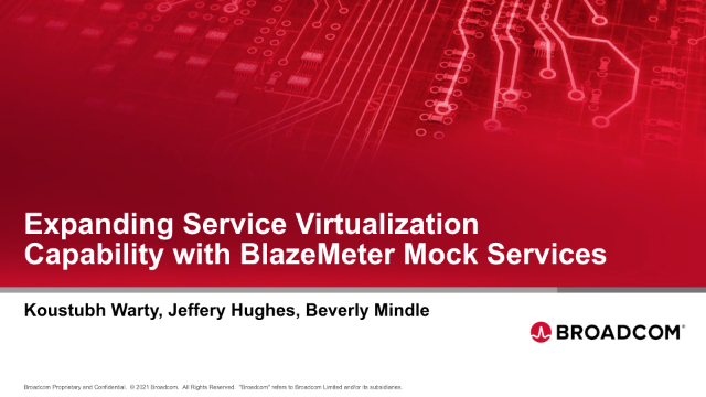 Expanding Service Virtualization Capability with BlazeMeter Mock Services