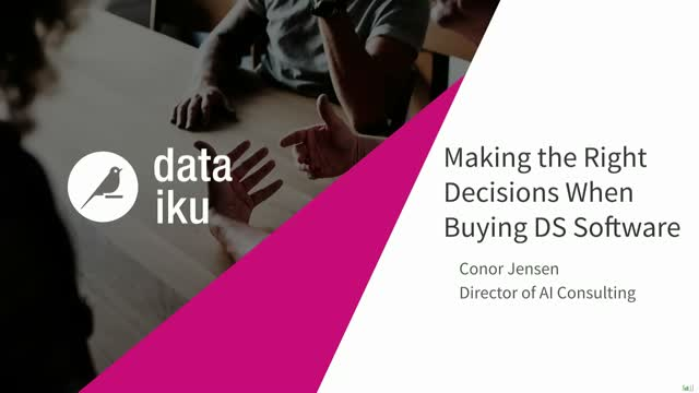How to Make the Right Decision When Buying Data Science Software