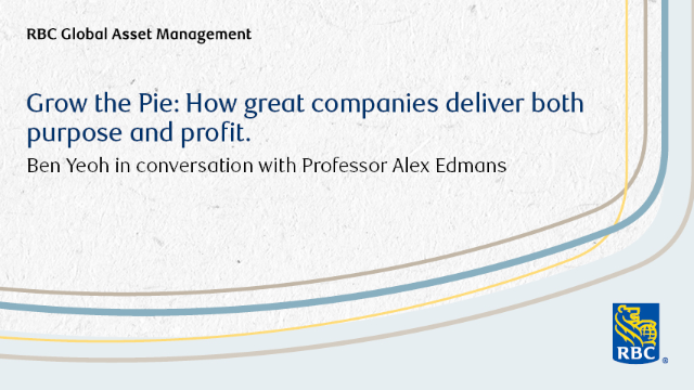 BOOK CLUB. Grow the Pie: How Great Companies Deliver Both Purpose and Profit