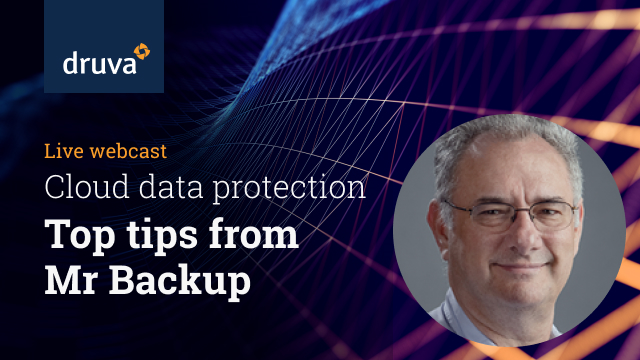 Ep2 Cloud Backup Top tips from Mr Backup:Coronavirus prep could prompt better DR