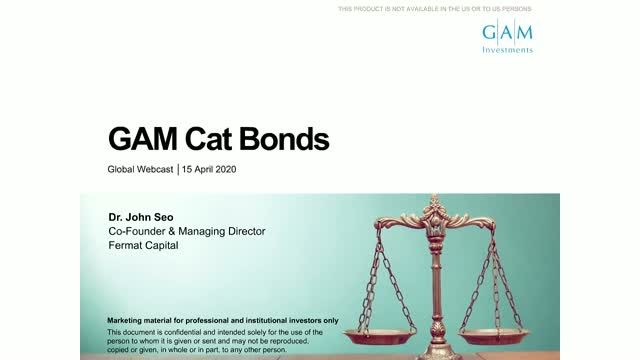 Business as usual - GAM Cat Bond update