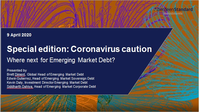 Special edition - Coronavirus caution: Where next for Emerging Market Debt