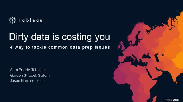 Dirty data is costing you: 4 ways to tackle common data prep issues