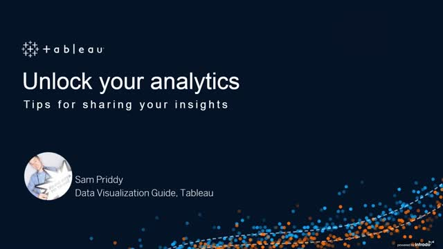 Unlock your analytics: Tips for sharing your insights