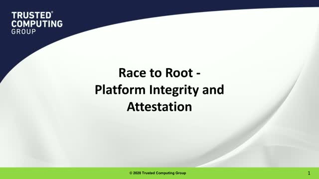 Race to Root - Platform Integrity and Attestation