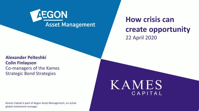 How crisis can create opportunity - AAM/Kames Strategic Bond strategy update