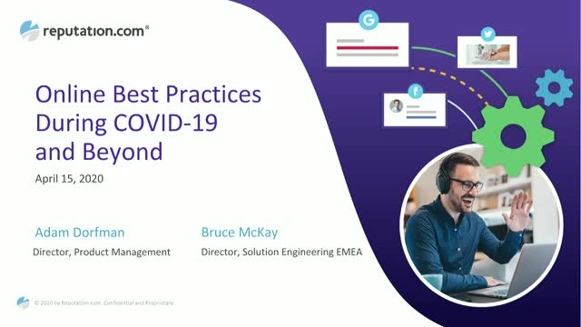 Online Best Practices During COVID-19 and Beyond