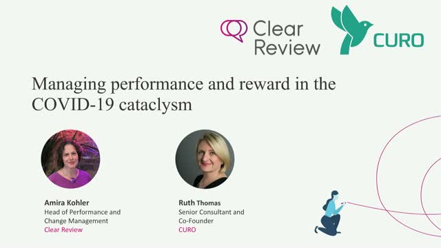 Managing performance and reward in the COVID-19 Cataclysm
