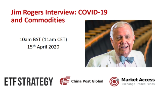 Jim Rogers Interview: COVID-19 and Commodities