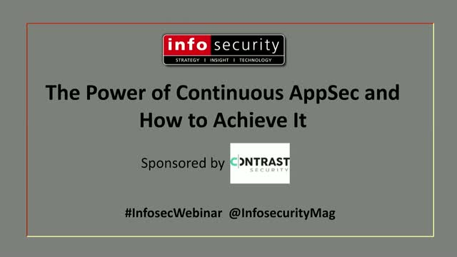 The Power of Continuous AppSec and How to Achieve It