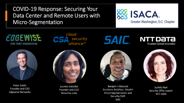 COVID-19 Response: Securing data centers & remote users with Micro-Segmentation