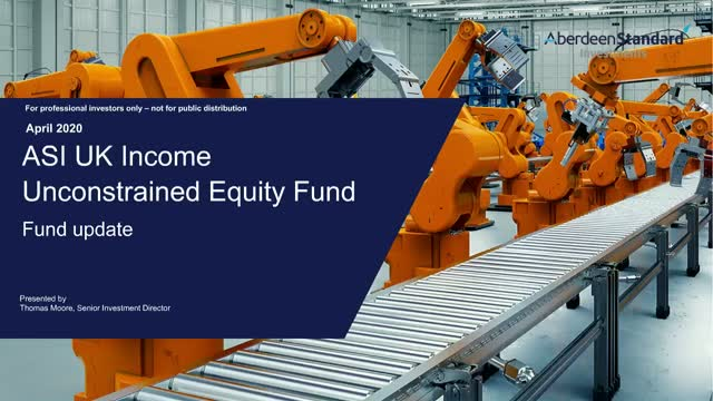 UK Income Unconstrained Equity Fund update