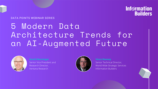 5 Modern Data Architecture Trends for an AI-Augmented Future
