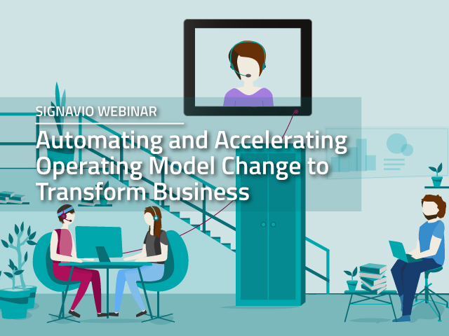 Automating and Accelerating Operating Model Change to Transform Business