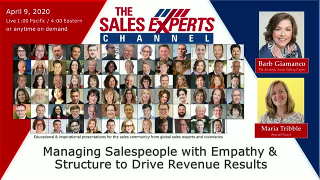 Managing Salespeople with Empathy & Structure to Drive Revenue Results