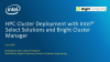 HPC Cluster Deployment with Intel Select Solutions and Bright Cluster Manager