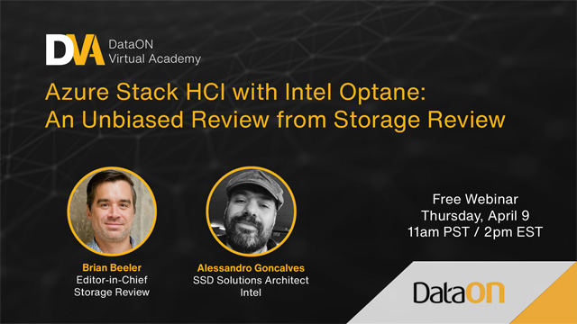 Azure Stack HCI with Intel Optane: An Unbiased Review from Storage Review