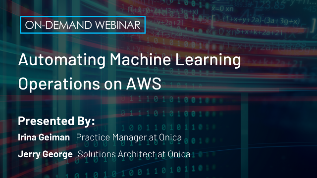 Automating Machine Learning Operations on AWS