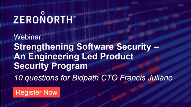Strengthening Software Security – An Engineering Led Product Security Program