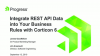Integrate REST API Data into Your Business Rules with Corticon 6