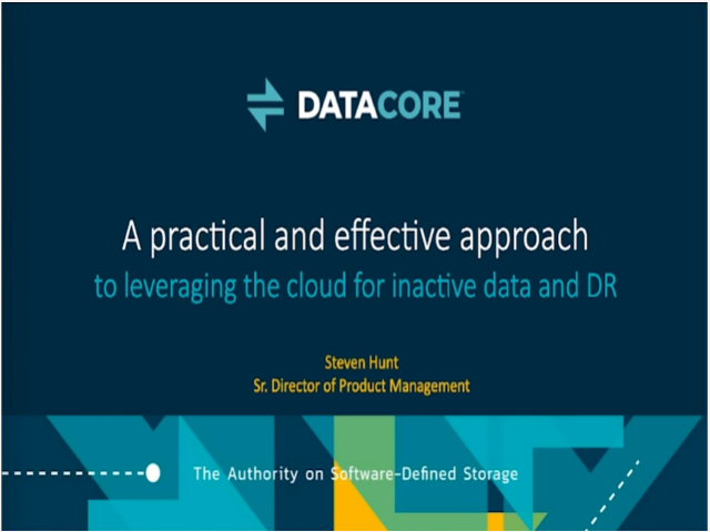 A Practical and Effective Approach to Leveraging the Cloud for Inactive Data