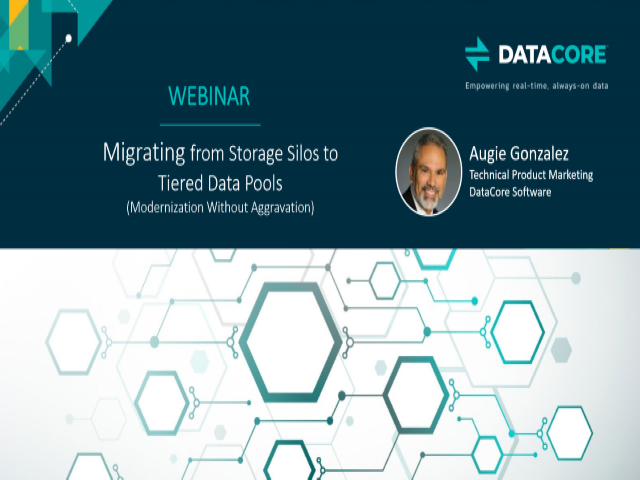 Migrating from Storage Silos to Tiered Data Pools