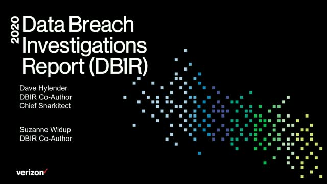 2020 Data Breach Investigations Report - SMB Deep Dive