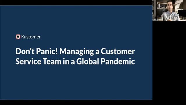 Managing a Customer Service Team in a Global Pandemic