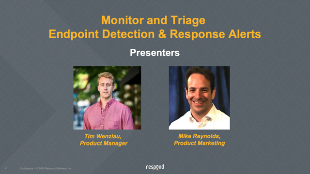 Automating SecOps - Monitoring & Triage for EDR Events