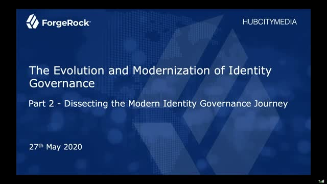 Part 2 - Dissecting the Modern Identity Governance Journey
