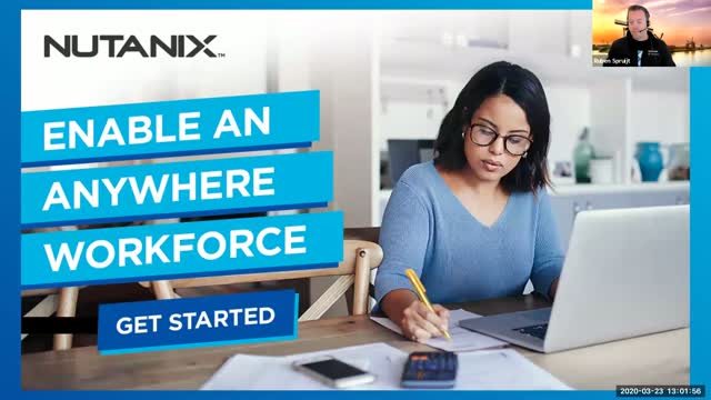 Enable Quick and Secure Anywhere Workforce Initiatives with Nutanix Xi Frame