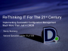 Implementing Configuration Management – Much More Than Just CMDB