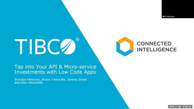 Tap into Your API & Microservice Investments with Low Code Apps