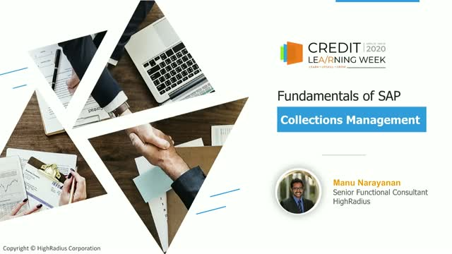 Fundamentals of SAP Collections Management