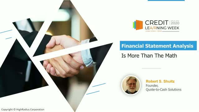 Financial Statement Analysis for Credit Risk Professionals