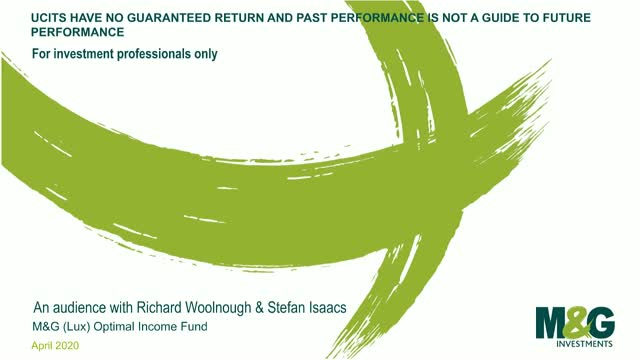 M&G Webcasts: M&G (Lux) Optimal Income Fund