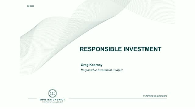 What is ESG & why is important now?