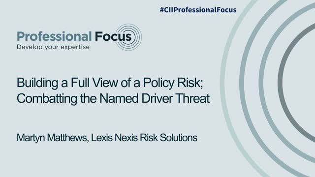 Hidden in Plain Sight – What is the Overall Risk of a Policy?