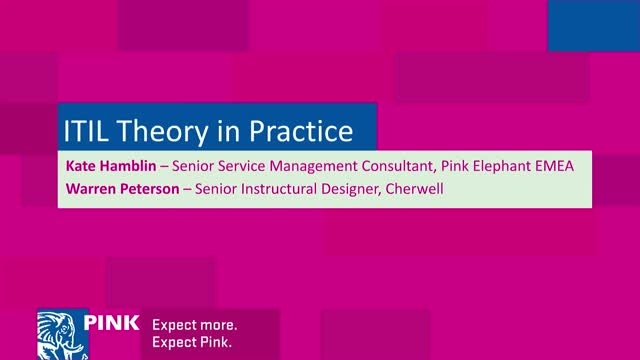 ITIL Theory in Practice