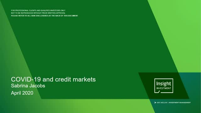 COVID-19 and credit markets: a review and outlook