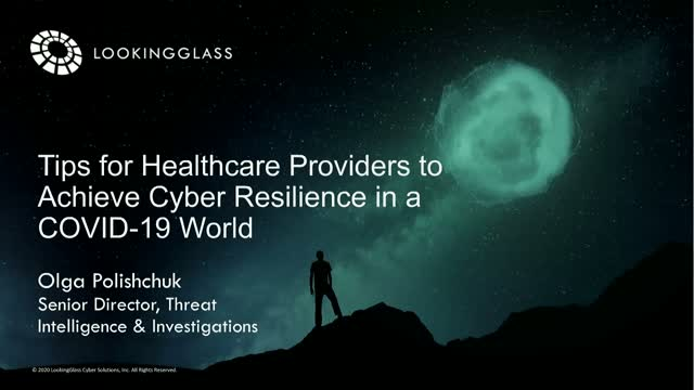 Tips for Healthcare Providers to Achieve Cyber Resilience in a COVID-19 World